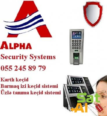 ✺Finger print, card reader, face control – access control sistemlər✺