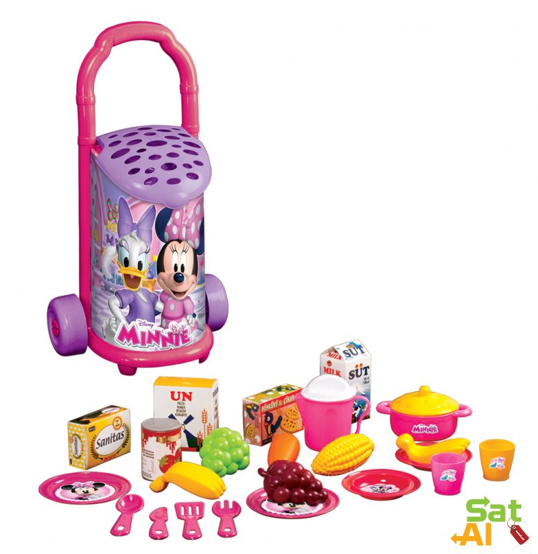 Mini Mouse Bazar Arabası