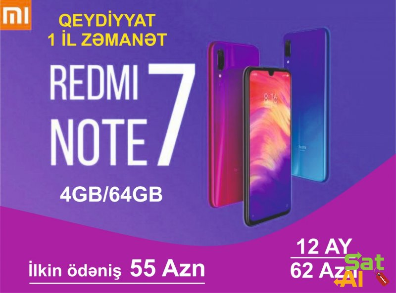 Xiaomi Redmi Note7  64gb
